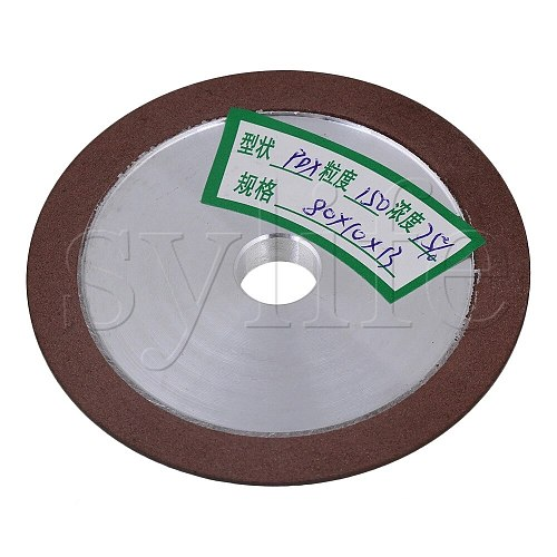 80x10x13mm Grinder Diamond Flat Disc Straight  #150 Grit Grinding Wheel