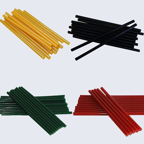 4 colors 7MM Hot melt adhesive WIth hot silicone gun glue sticks 11mm DIY toys Repair tool