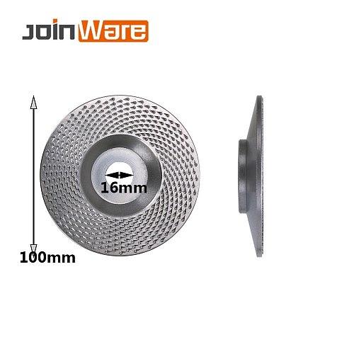 Tungsten Carbide Wood Grinding Wheel Discs Angle Grinder Sanding Discs Metal Plastic Wood Abrasive Tool