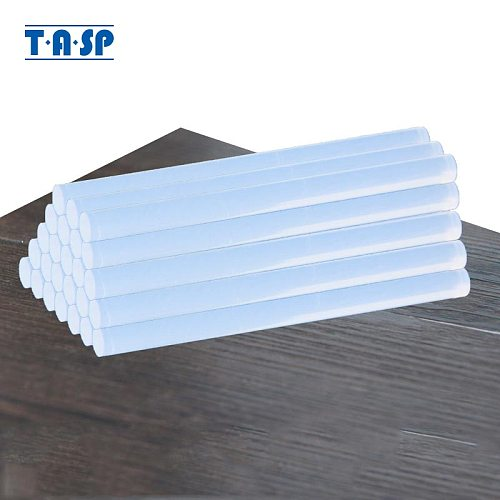 TASP 25pcs 7mm Transparent Hot Melt Glue Sticks For Silicon Glue Gun & Craft Album Repair Tools