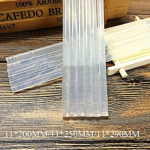 1PC 11mm Hot Melt Glue Stick for Heat Glue Gun High Viscosity 11x200/250/290mm Adhesive Glue Stick Repair Tool Kit DIY Hand Tool