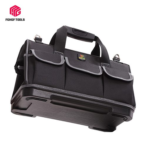 Large Capacity Tool Bag Hardware Organizer Crossbody Belt Men Travel Bags Handbag Backpack Spanner Electrician Carpenter Toolkit