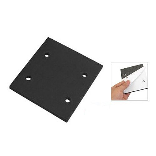 GTBL 10 Pcs Self Adhesive Foam Part Sander Back Pad Sanding Mat for Makita 4510