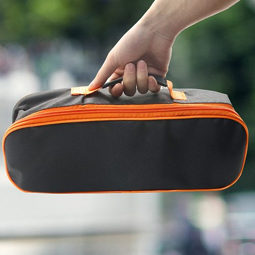 Car Black Wear Resistant Zipper Closure Practical Storage Case With Handle Durable Portable Pouch Vacuum Cleaner Tool Bag