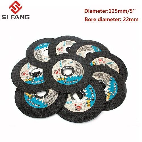 5-25Pc 125MM Metal Resin Cutting Discs Fiber Reinforced Resin Cutting Disc Grinding Wheel Blade Cut Off Wheel Angle Grinder Tool