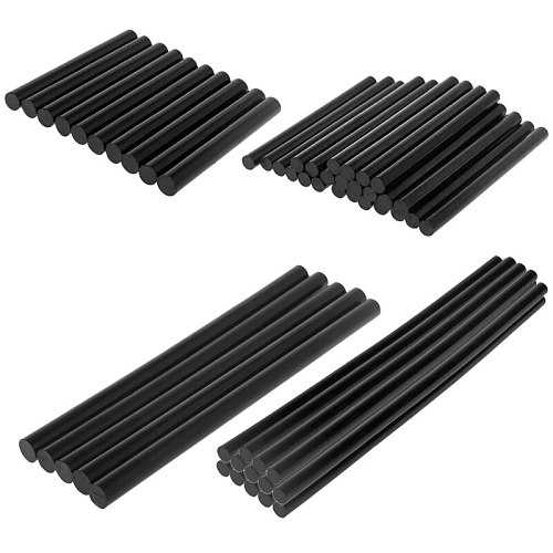 10pcs Hot Melt Glue Stick Black High Adhesive 11mm For DIY Craft Toy Repair Tool 77UC