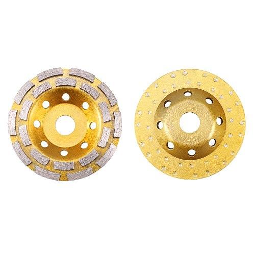 125mm Diamond Grinding Wheel Disc Bowl Shape Grinding Cup Concrete Granite Stone Ginding Wheel Polishing Pads Tools