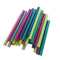 30pcs/Lot Mixed Color Hot Glue Sticks High Viscosity Electric Gun Silicone Craft Repair Power Tools DIY Hot Melt Sticks