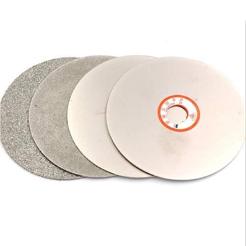 Grit 80-3000 Diamond Coated Flat Lap Wheel Jewelry Grinding Polishing Disc