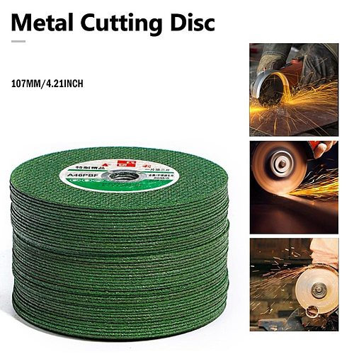 Cutting Discs Angle Grinder Stainless Steel Metal Grinding Wheel Resin Double Mesh Ultra-Thin Polishing Piece