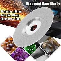 100mm Glass Ceramic Granite Diamond Saw Blade Disc Cutting Wheel For 16mm Angle Grinder Power Tools