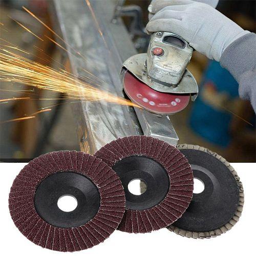 Abrasive 100mm Polishing Grinding Wheel Quick Change Sanding Flap Disc For Grit Angle Grinder 80 Grit C90A