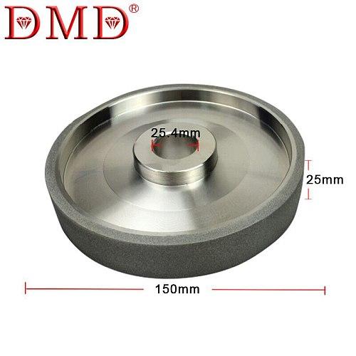 DMD Diamond Grinding Wheels CBN Grinding Wheel Diameter 150mm High Speed Steel For Metal stone Grinding Power Tool Accessories