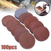 100pcs 3inch 75mm Sanding Discs Round Polishing Pad Sandpaper Sheets Mayitr For Abrasive Tools