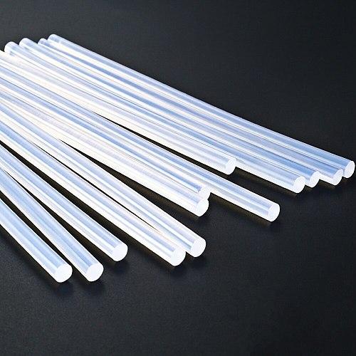 Hot Melt Glue Gun Glue Sticks 7mm 11mm 300mm 150mm 10Pcs/Lot Clear Home DIY Industrial Manufacture Electric Glue Gun Craft