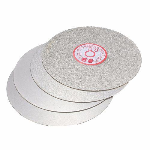4pcs/set Diamond Polishing Disc 600 800 1200 3000 Grit 6  Flat Lap Grinding Wheel Lapping Grinding Disc Tool Polishing Laps