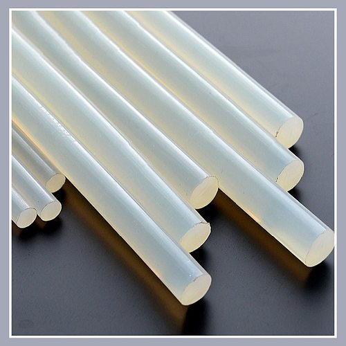 Hot Melt Glue Sticks 7mm/11mm Translucent Strong Viscosity Rods For Glue Gun High Temperature Resistance Hot Glue 10Pcs