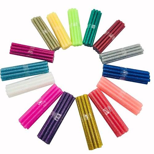 150pc Colorful Hot Melt Glue Sticks 7mm For Glue Gun High Viscosity Adhesive Repair Tool DIY Art Craft Hand Tool 150 PC Per Set