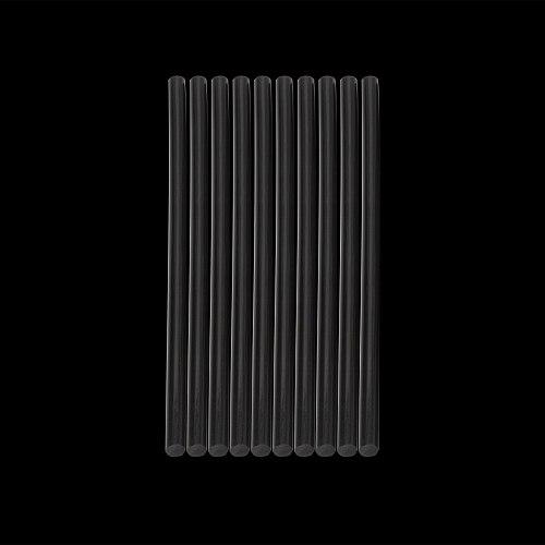 10Pcs 7*190mm Hot Melt Glue Sticks For Electric Glue Gun Craft Album Repair Accessories rod Home Tools Transparent/Black