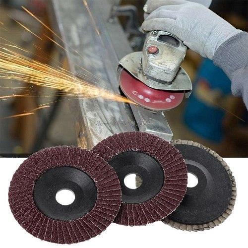Abrasive 100mm Polishing Grinding Wheel Quick Change Sanding Flap Disc For Grit Angle Grinder 80 Grit Dropship