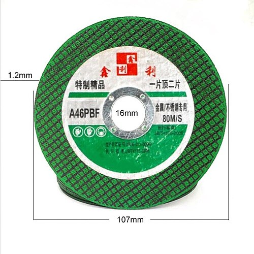 25-100pcs Angle Grinding Wheel Stainless Steel Metal Cutting Discs Resin Double Mesh Ultra-Thin Polishing Piece