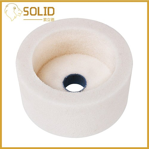 4/5/6  Grinding Wheel Ceramic Cup Corundum Abrasive Wheel Grinder 60/80Grit for Polishing Grinding Metals  Marble Sharper Tool