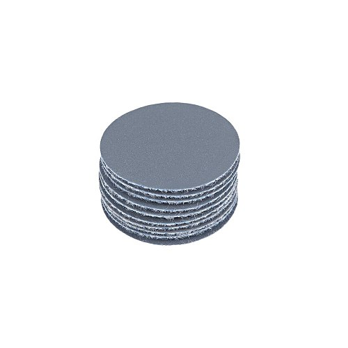 uxcell 10pcs 1-Inch Hook and Loop Sanding Disc Aluminum Oxide Silicon Carbide 1500 Grit for Polishing Furniture, Wood, Metal