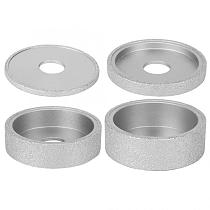 7.3cm Flat Brazed Diamond Edge Grinding Wheel 0.5/1.0/2.5/3.0cm Height For Stone Marble Ceramic Granite Concrete Angle Grinder