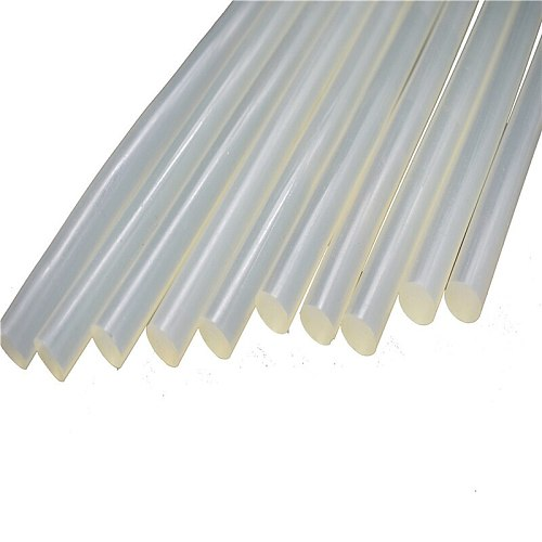 10pcs Transparent Glue Sticks For Electric Glue Gun Car Audio Craft Repair General Purpose Adhesive Stick Repair Tool 7x200mm