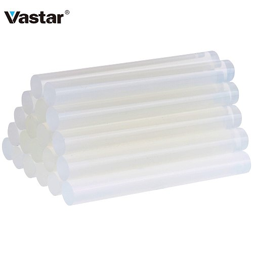 Vastar 20pcs Hot Melt Glue sticks 11mm*100mm Non-Toxic DIY Glue Stick For Glue Gun Craft