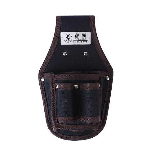 Screwdriver Utility Kit Holder Top Quality 600D Nylon Fabric Tool Bag Electrician Waist Pocket Tool Belt Pouch Waterproof