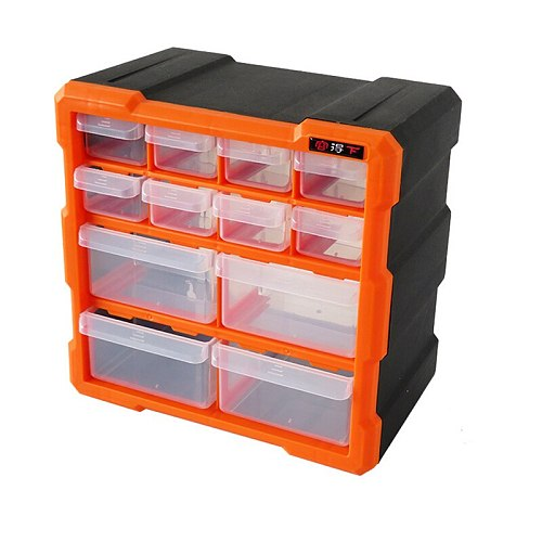 High Quality Tool Case Toolbox Parts Bx Classification of Ark Multi-grid Drawer Type Lego Building Blocks Case Component Box