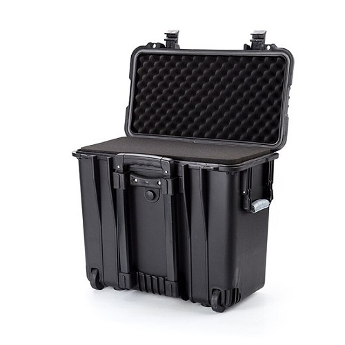 19.5 inch Safety Protection case Pull rod Suitcase waterproof Impact resistance equipment instrument plastic tool box W/sponge