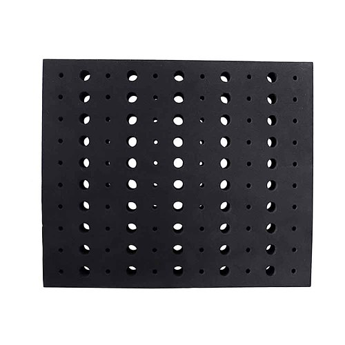 Hard Foam Workshop Portable Save Space Household Garage 110 Holes Divider Milling Cutters Router Bit Tray Durable Tools Storage