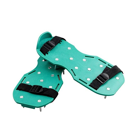 FGHGF 4.2cm Green Nail Shoes Apply To Garden Grass Pine Soil Foot-operated Ripper Professional Loosening Tool