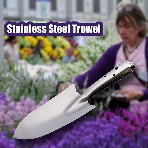 Stainless Steel Trowel Gardening Potting Soils Scoop Hand Trowel Soils Diggers Stainless Steel Garden Shovel Spade Garden Tool