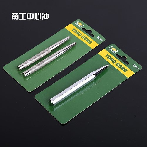 Manufacturers  Yong Gong Genuine Product Anti-slip Fitter Rushed Center Punch Anvil Conical Punch Positioning Punch Oct