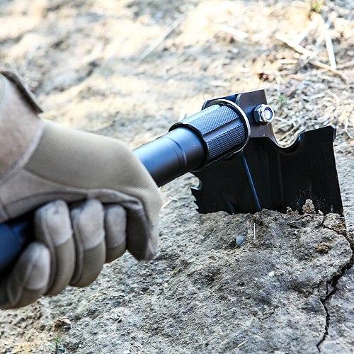 HONHAI Garden Tools Military Multifunction Shovel Outdoor Tools Camping Survival Folding Spade Tool Snow Shovel gardening tools