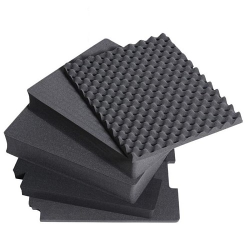 2PCS Pre-cut Foam Easy Cutting Pick Pluck Foam for Tool Box without Hard Plastic Case for FH86001