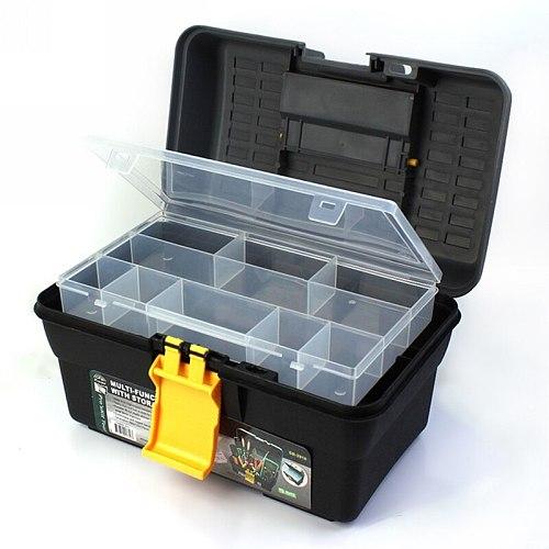 290x175x175mm Multifunction Plastic Toolbox Home Hardware Hand Tools Repair Tool Box Car Auto Storage Box