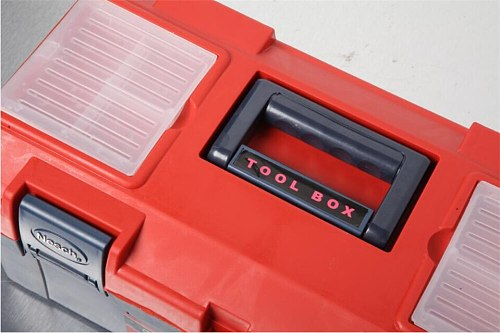 Plastic Toolbox with plastic storage box 17 inch 19 inch
