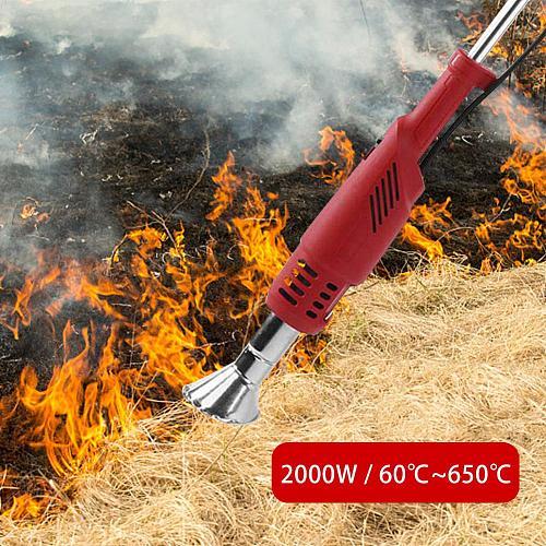 2000W Electric Lawnmower Thermal Weeder Hot Air Weed Killer Grass Flame/Weed Burner Of Garden Tools EU PLUG