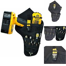 Heavy-duty Drill Holster Tool Belt Pouch Bit Holder Hanging Waist Bag Drill Tool Storage Bags YU-Home