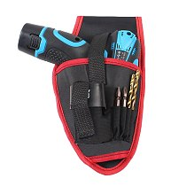 Portable Tools Waist Bag Cordless Drills Holder Storage Pouch for 12V Electric Drill Tool GHS99