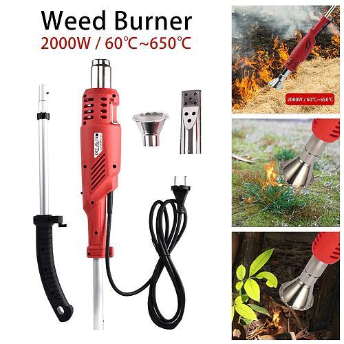 EU/US /UK /AU Plug 2000W Electric Lawnmower Weeder Power Tool Electric Weed Burner Weed Killer Garden Tools Wholesale