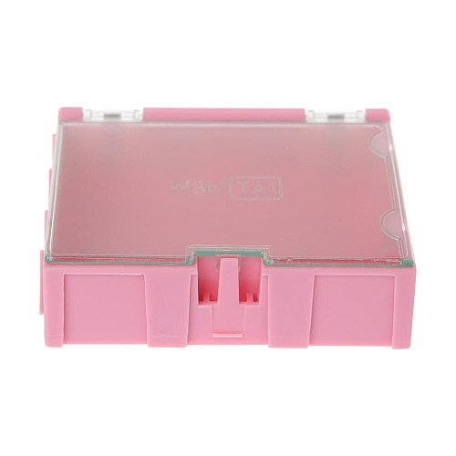 Mini SMD SMT Electronic Box IC Electronic Components Storage Cases 75x63x21mm