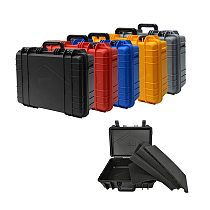 470x360x168mm ABS Plastic Toolbox Safety Instrument Tool Box Protective Toolbox Equipment Suitcase Impact Resistant with Foam