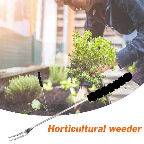 Garden Hand Weeder Tools Sponge Handle Stainless Steel Weeding Horticultural Removal Cutter Multifunction Weeder Transplant