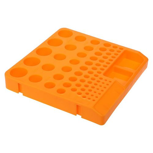 Storage Box Organizer Container Tray Holder For Drill Bit Collet Tool Accessories