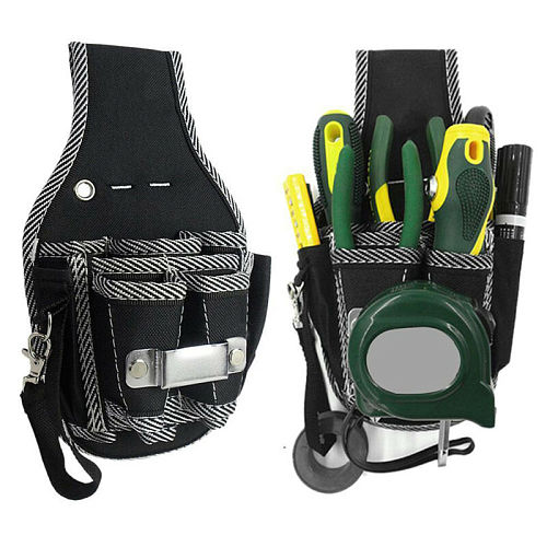 9 in1 Electrician Waist Tool Bag Screwdriver Utility Kit Pocket tools organizer Storage Bags